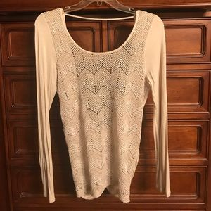 Tops - Daytrip sweater with low back